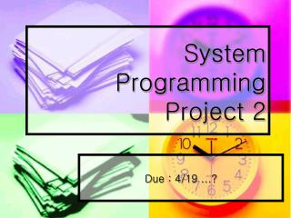 System Programming Project 2