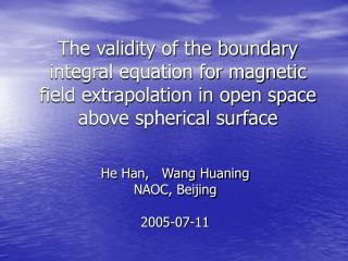 He Han,   Wang Huaning NAOC, Beijing 2005-07-11