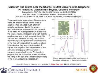 Quantum Hall States near the Charge-Neutral Dirac Point in Graphene