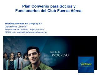 Plan Convenio para Socios y Funcionarios del Club Fuerza Aérea.