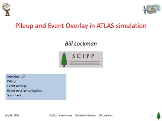 Pileup and Event Overlay in ATLAS simulation