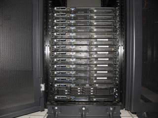 Cluster currently consists of: 1 Dell PowerEdge  2950