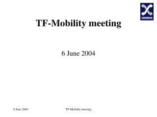TF-Mobility meeting