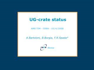 UG-crate status