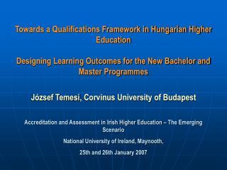 József  Temesi , Corvinus University of Budapest