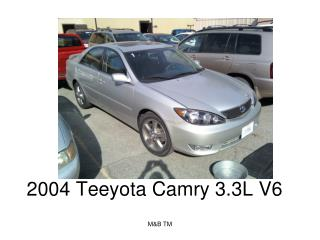 2004 Teeyota Camry 3.3L V6