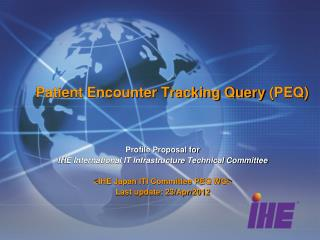 Patient Encounter Tracking Query (PEQ)