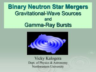 Binary Neutron Star Mergers Gravitational-Wave Sources and Gamma-Ray Bursts