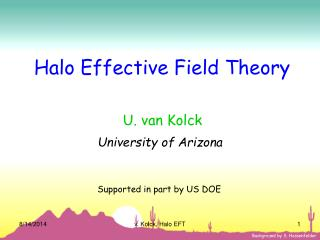 Halo Effective Field Theory