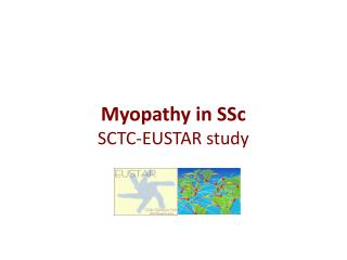 Myopathy in SSc SCTC-EUSTAR study