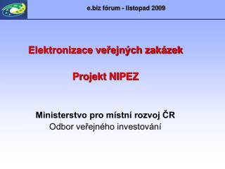 e fórum - listopad 2009