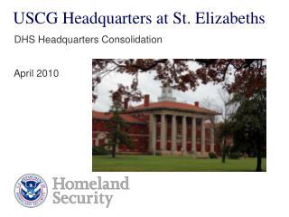 USCG Headquarters at St. Elizabeths
