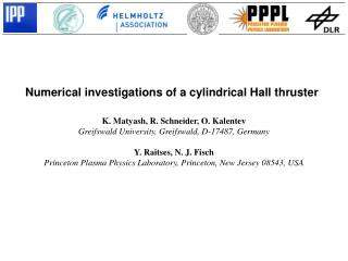 Numerical investigations of a cylindrical Hall thruster