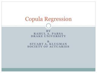 Copula Regression