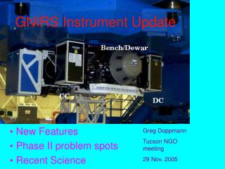 GNIRS Instrument Update