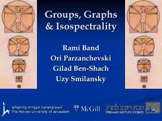 Groups, Graphs  & Isospectrality