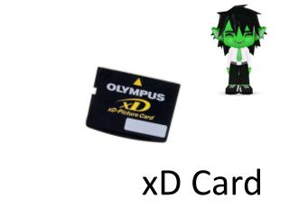 x D  Card