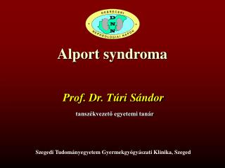 Alport syndroma