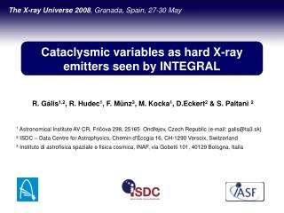 Cataclysmic variables as hard X-ray emitters seen by INTEGRAL
