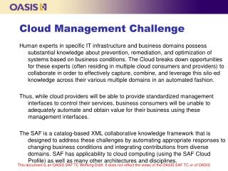 Cloud Management Challenge