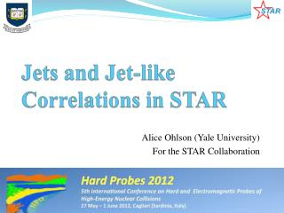 Jets and Jet-like Correlations in STAR