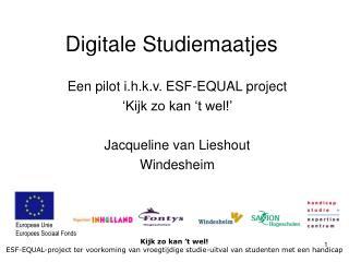 Digitale Studiemaatjes