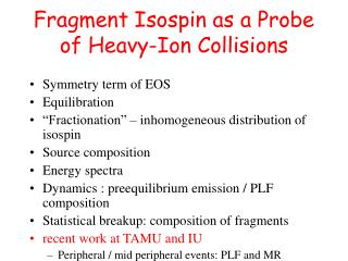 Fragment Isospin as a Probe of Heavy-Ion Collisions
