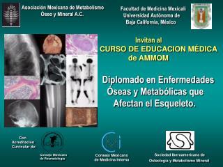 Invitan al  CURSO DE EDUCACION M DICA                  de AMMOM    Diplomado en Enfermedades      seas y Metab licas que