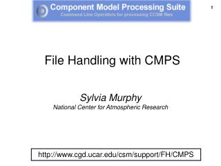 File Handling with CMPS