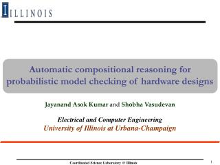 Automatic compositional reasoning for probabilistic model checking of hardware designs