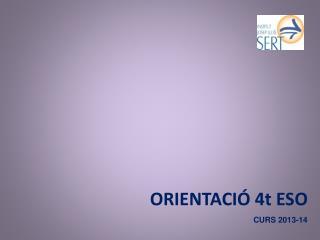 ORIENTACIÓ 4t ESO