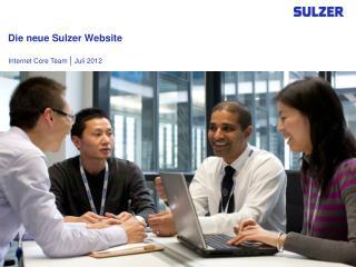 Die neue Sulzer Website