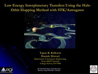 Low Energy Interplanetary Transfers Using the Halo Orbit Hopping Method with STK/Astrogator