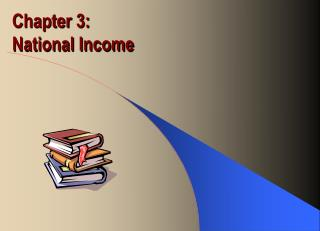 Chapter 3:  National Income