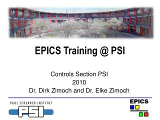 EPICS Training  PSI