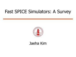 Fast SPICE Simulators: A Survey