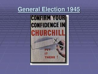 General Election 1945