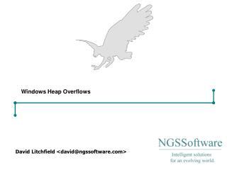 Windows Heap Overflows