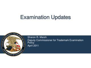 Examination Updates
