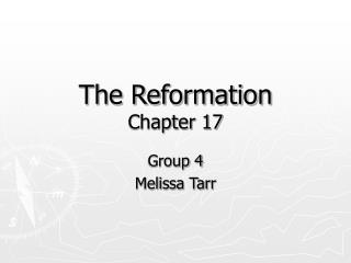 The Reformation Chapter 17