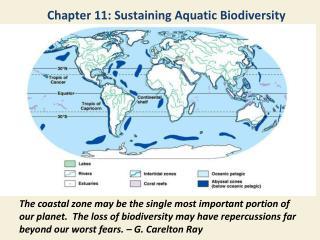 Chapter 11: Sustaining Aquatic Biodiversity