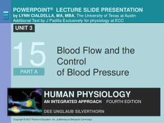 Blood Flow and the Control  of Blood Pressure