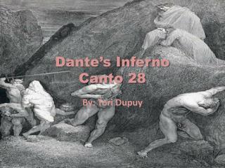 Dante�s Inferno  Canto 28