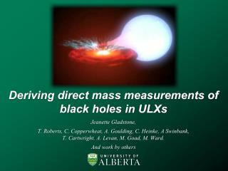 Deriving direct mass measurements of black holes in ULXs