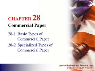 CHAPTER  28 Commercial Paper