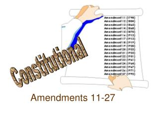 Amendments 11-27