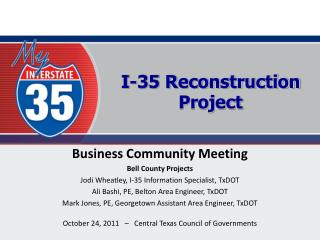 I-35 Reconstruction Project