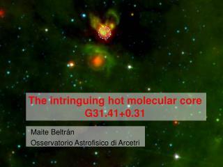Maite Beltrán Osservatorio Astrofisico di Arcetri
