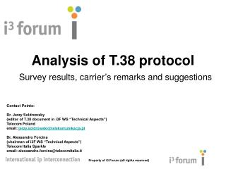 Analysis of T.38 protocol