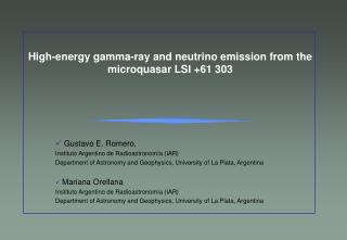 High-energy gamma-ray and neutrino emission from the   microquasar LSI +61 303